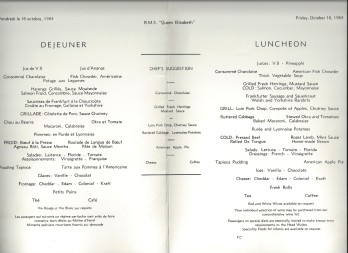 16 lunch lake menu
