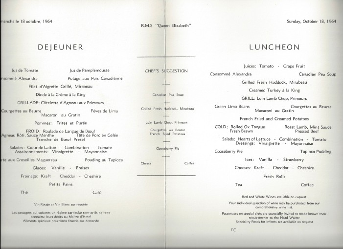 18 lunch butterly menu