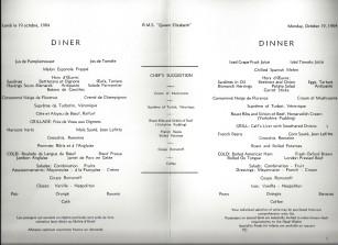 19 dinner london menu