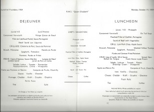 19 lunch circus menu