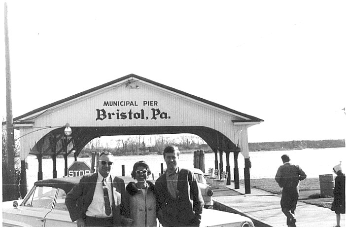 With Vi and Herb in Bristol Pennsylvania 1965