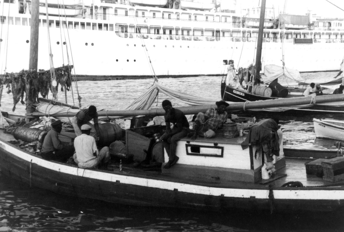 Dec 64 local fishermen in Bahamas