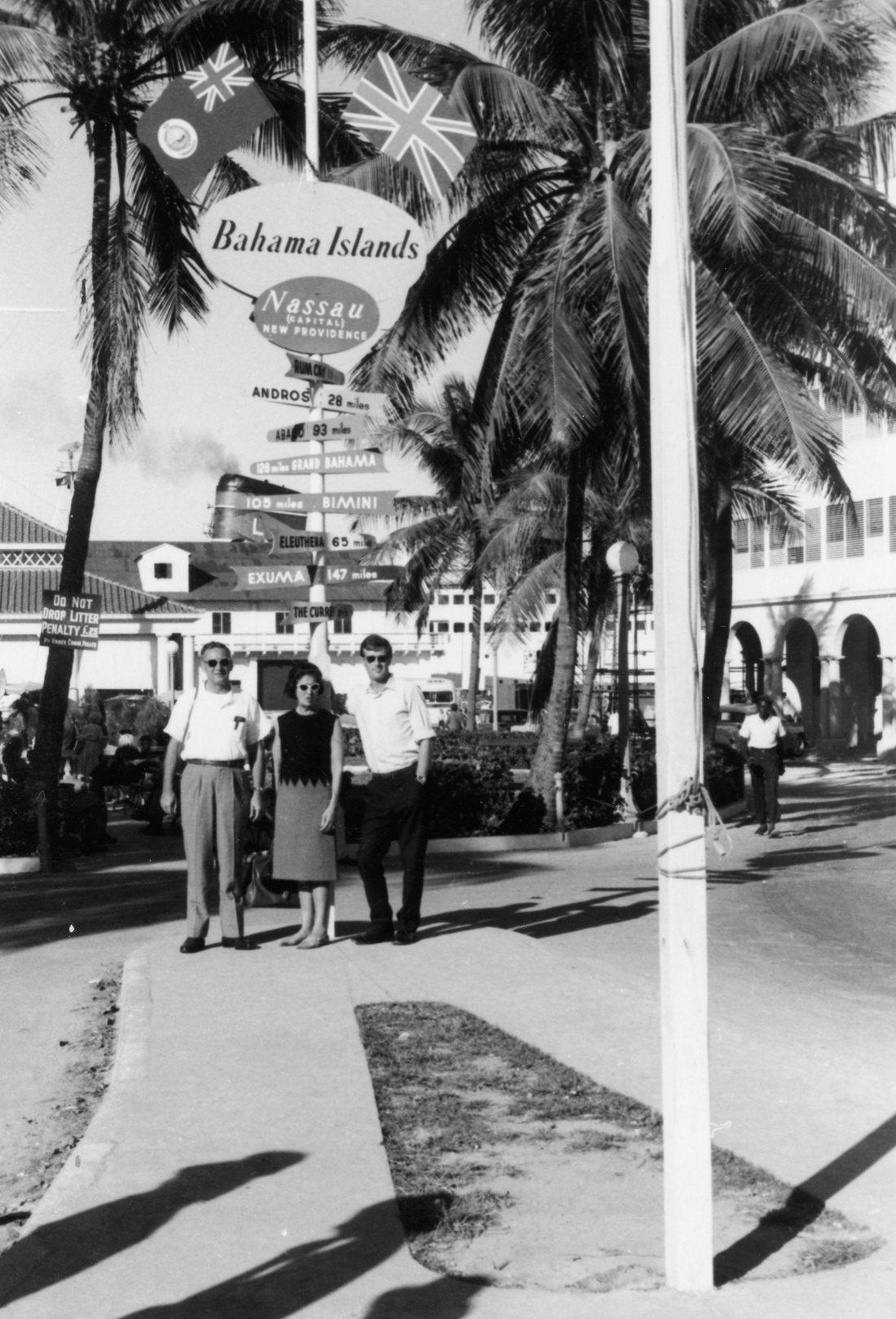 Dec 64 Tony Herb Vi Bahamas cruise