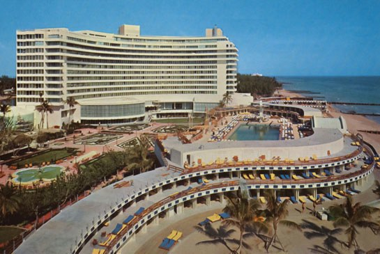 Ffontainebleau Hotel 1960s image