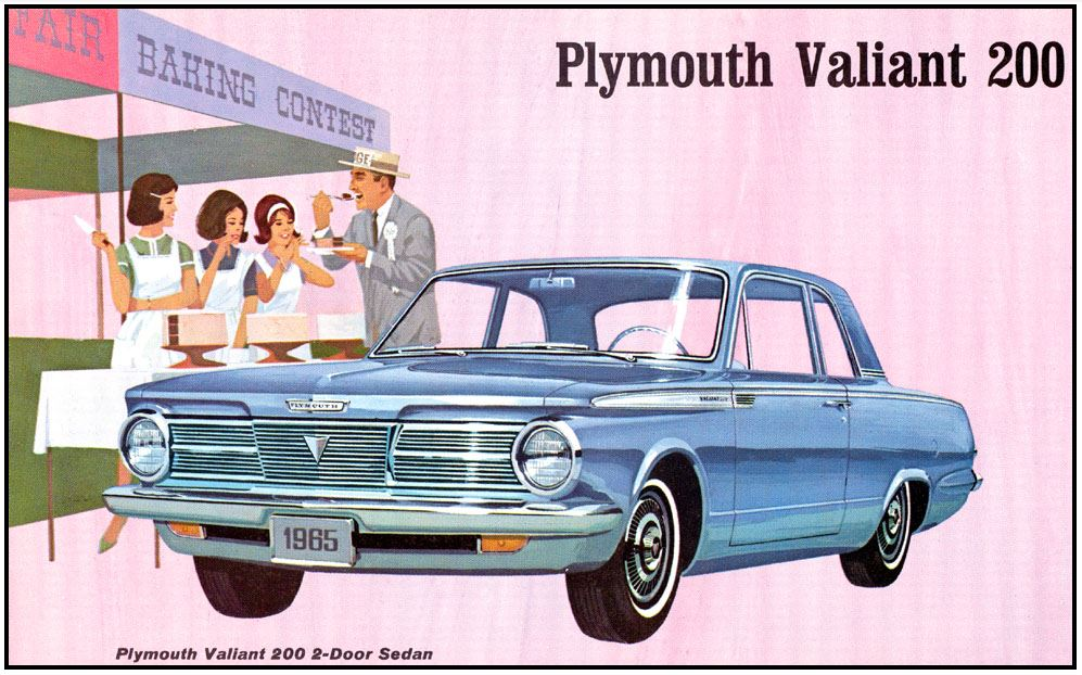 1965 Plymouth Valiant advert