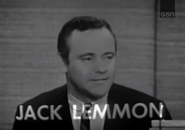 Jack Lemmon whats my line