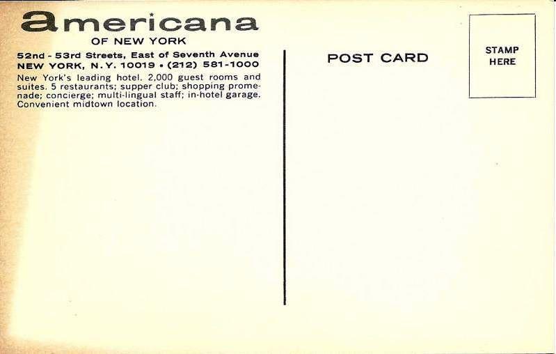 Americana Hotel 2