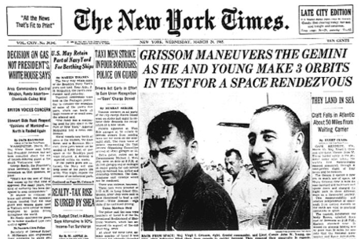 Gemini 3 headline March 65