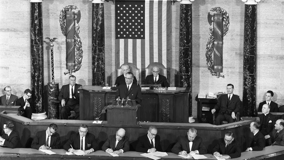 LBJ speech to congress march 65