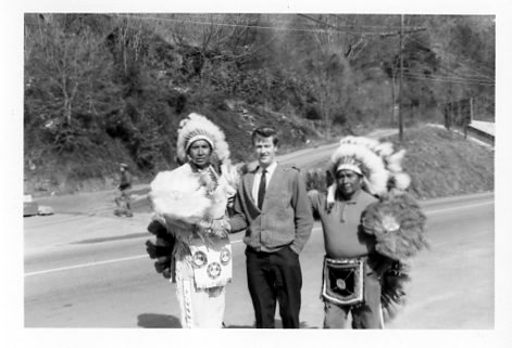 meeting a Cherokee chief March 65