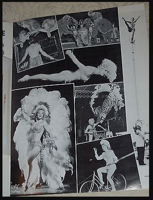 1965 04 08 images from Mason Magazine 1964 showing Shrine Circus Cincinatti