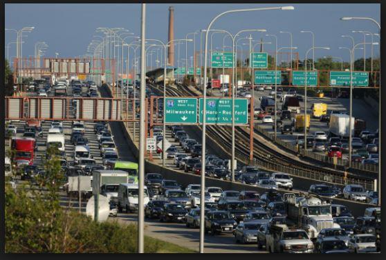 1965 04 09 Chicago Kennedy Expressway 2