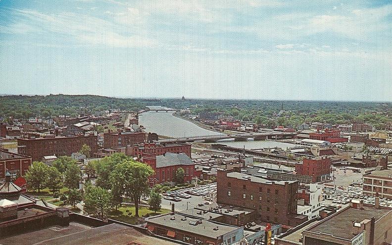 1965 04 22 Rochester postcard