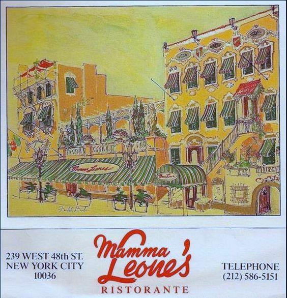 1965 04 25 Mama Leone's