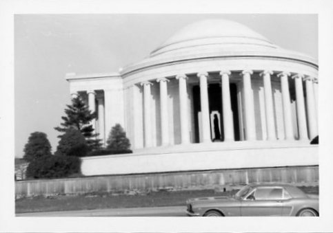1965 04 29 Jefferson Memorial Washington
