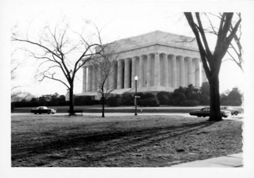 1965 04 29 Lincoln Memorial Washington