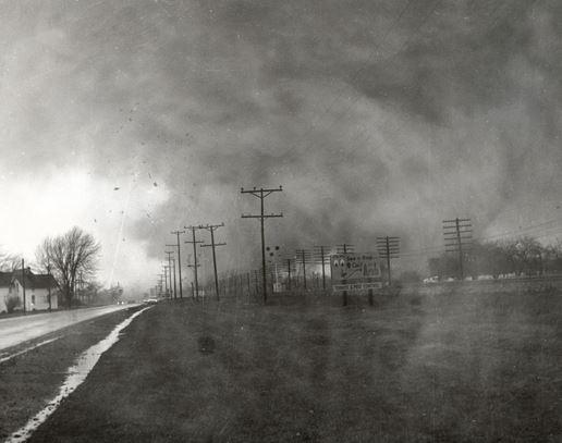 Palm Sunday tornadoes Paul Huffman photo