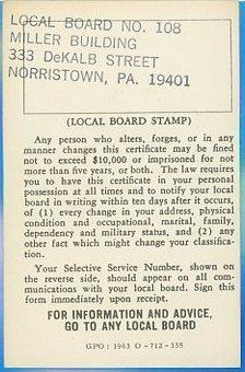1965 05 01 Tony's sss registration card rear