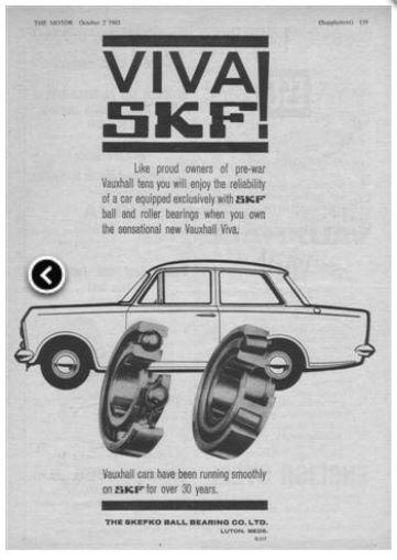 1960s skf advert