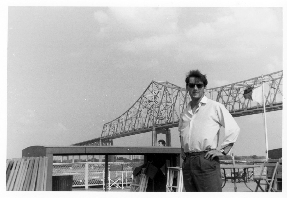1965 06 New Orleans Colin on Riverboat President2