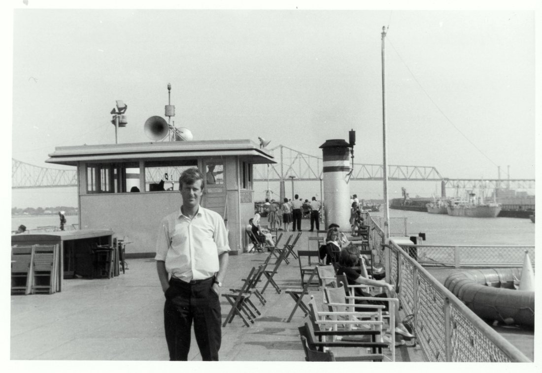 1965 06 New Orleans Tony on Riverboat President