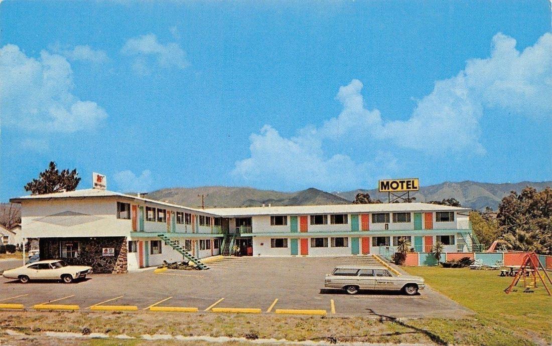 San Luis Obispo postcard 1960s