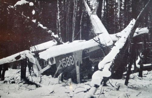 Helen Klaben plane wreckage