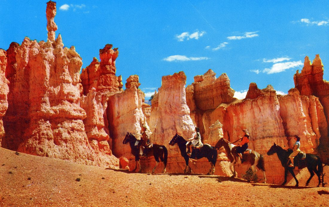 Horseback Riders, Bryce Canyon National Park Utah P15