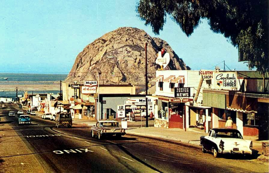 1960s postcard Morro Bay