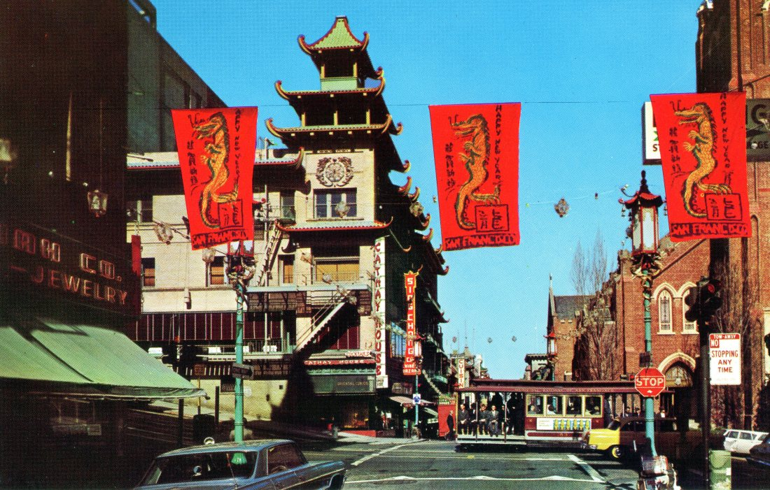 P50 SAN FRANCISCO CHINATOWN CALIFORNIA