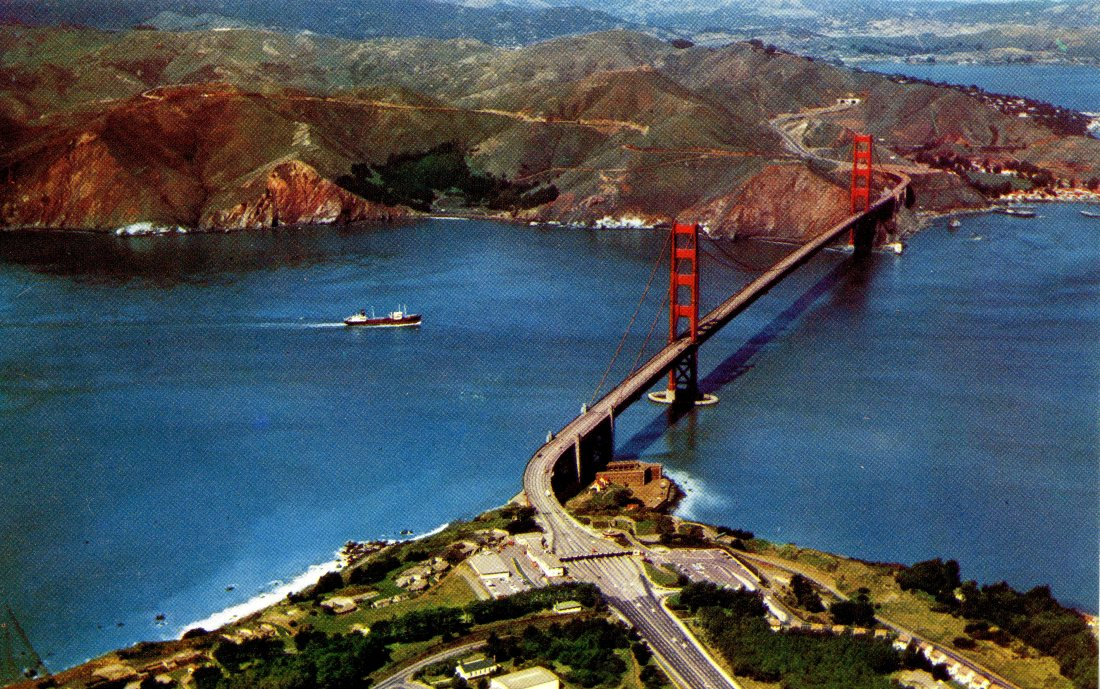 P53 THE GOLDEN GATE SAN FRANCISCO CALIFORNIA