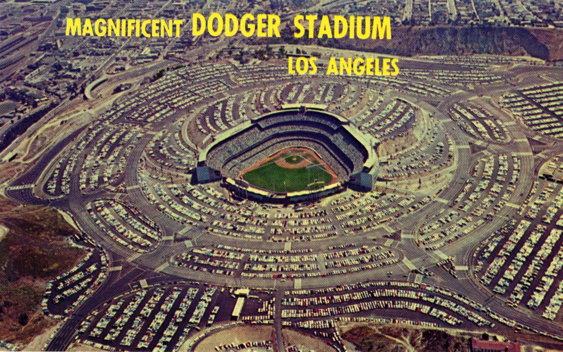 P55 DODGER STADIUM - LOS ANGELES CALIFORNIA