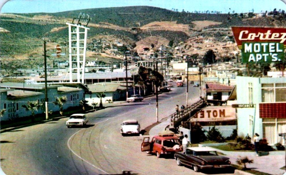 Ensenada Mexico 1965 postcard