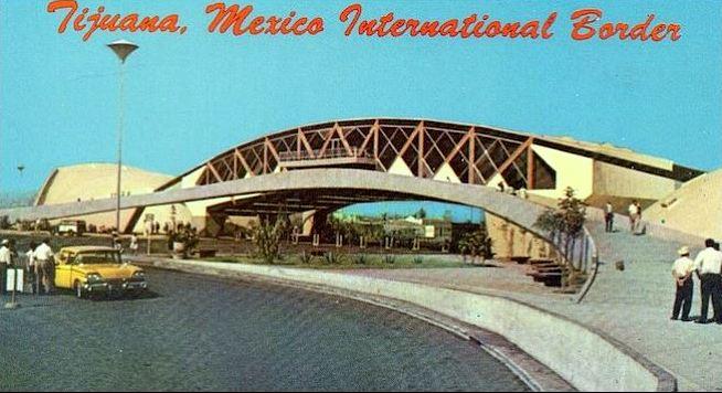 Tijuana 1960s postcard Mexico.JPG