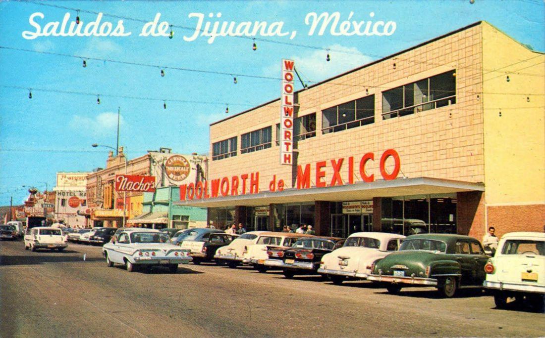 Tijuana 1960s postcard