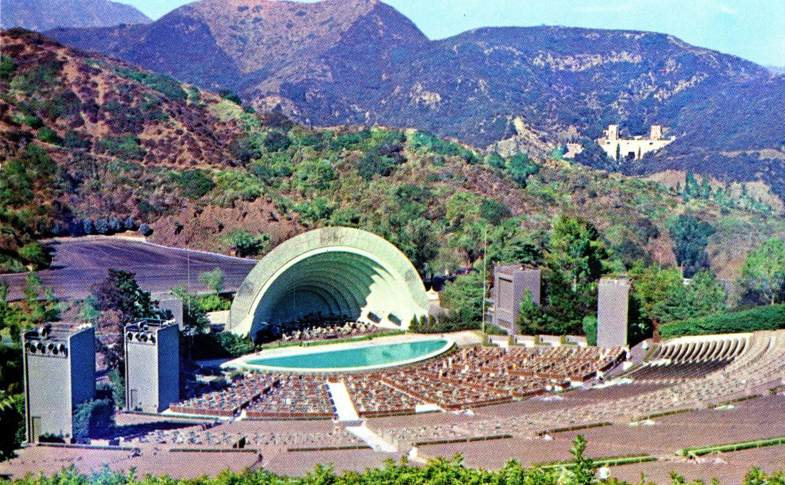 P47 FAMOUS HOLLYWOOD BOWL HOLLYWOOD CALIFORNIA