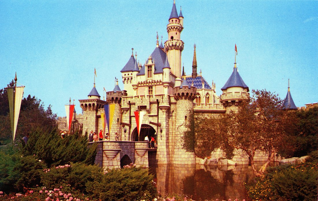 p40 sleeping beauty_s castle – fantasyland disneyland california