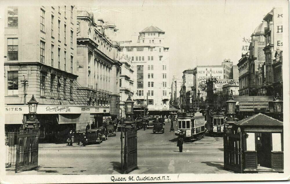 Auckland 1965 postcard