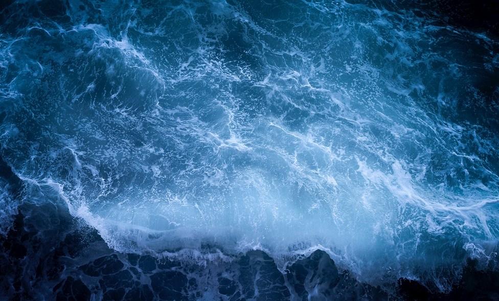 stormy sea image